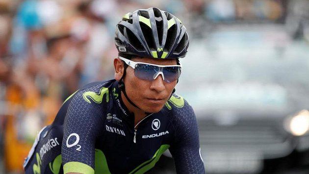 Kolumbijec Nairo Quintana na Tour.