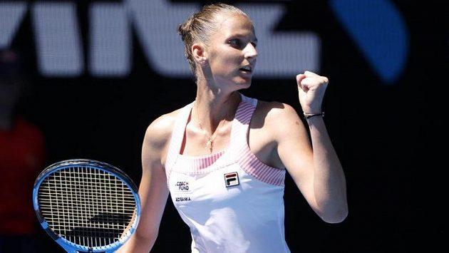 Bravo! Karolína Plíšková postoupila na Australian Open do semifinále. Učiní i další krok?