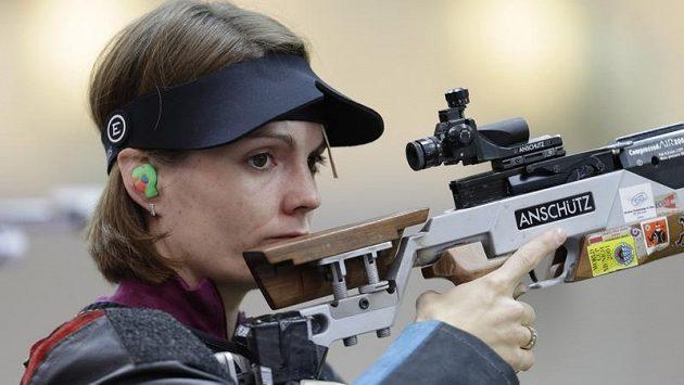 Střelkyně Kateřina Emmons je prvním českým želízkem v ohni v programu OH