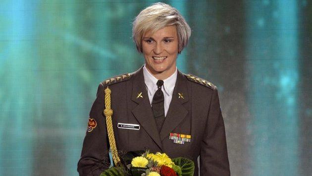 Atletka roku 2012 Barbora Špotáková