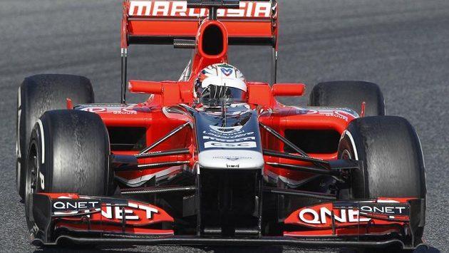 Vůz stáje Marussia.