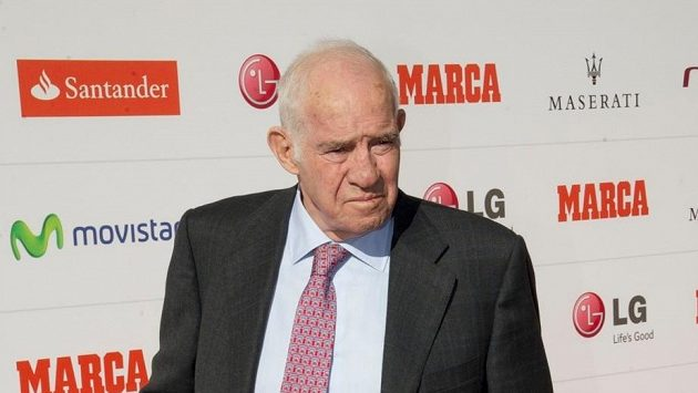Bývalý španělský trenér Luis Aragonés