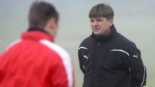 Nový trenér Viktorie Plzeň Dušan Uhrin mladší (vpravo).