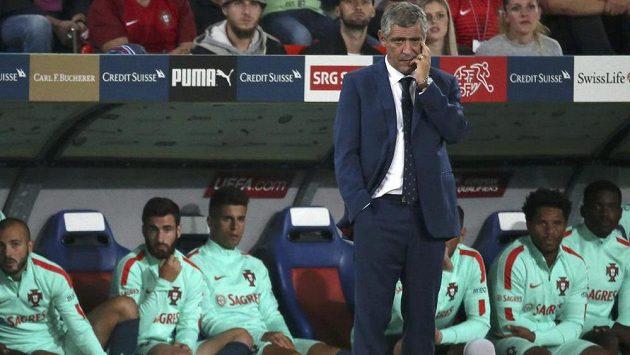 Portugalský trenér Fernando Santos musel hned v úvodu kvalifikace MS 2018 skousnout porážku, mistři Evropy padli ve Švýcarsku.