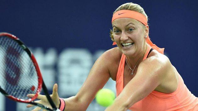 Petra Kvitová během turnaje v Ču-chaji.
