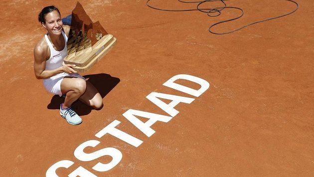 Švýcarská tenistka Viktorija Golubicová vyhrála turnaj v Gstaadu a slaví první titul na okruhu WTA.
