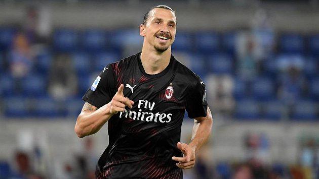 Útočník AC Milán Zlatan Ibrahimovic