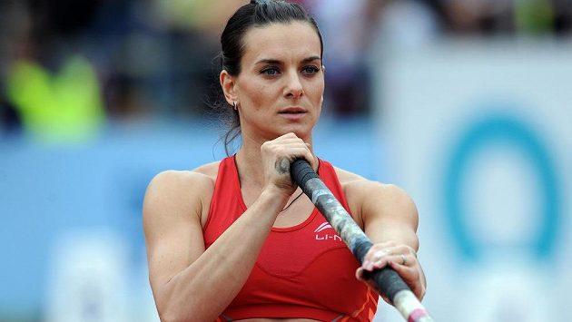Ruská tyčkařka Jelena Isinbajevová by ráda vedla ruskou atletiku.