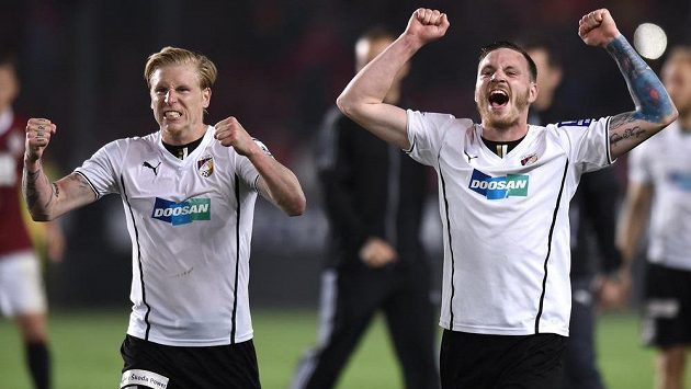 Plzeňští František Rajtoral (vlevo) a Ondřej Vaněk jsou nažhavení na začátek nové sezóny.