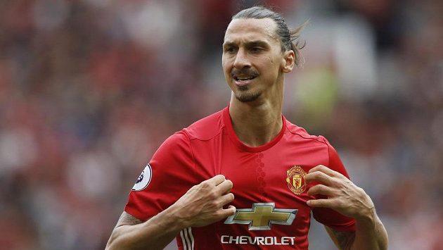 Jedna z největších hvězd Rudých ďáblů Zlatan Ibrahimovic.