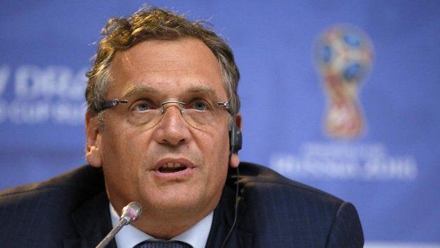 Bývalý generální sekretář FIFA Jerome Valcke.