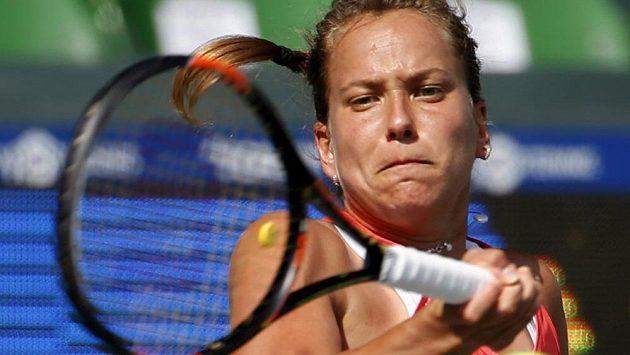 Barbora Strýcová na turnaji v Tokiu dohrála.