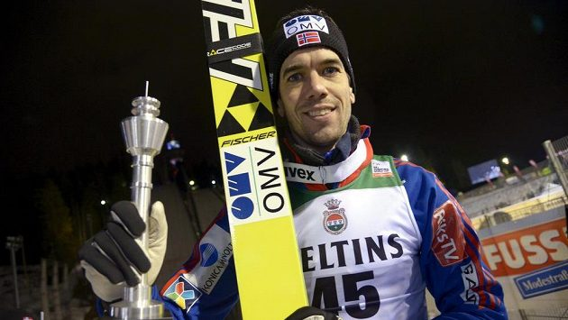 Norský skokan na lyžích Anders Bardal ukončil kariéru.