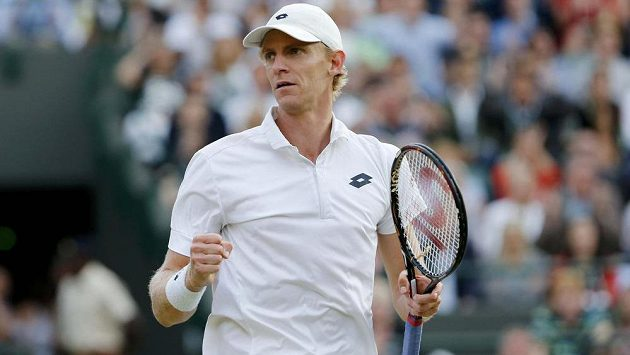 Jihoafrický tenista Kevin Anderson je na grandslamovém Wimbledonu blízko senzaci.