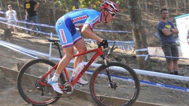 Český biker Jan Vastl.