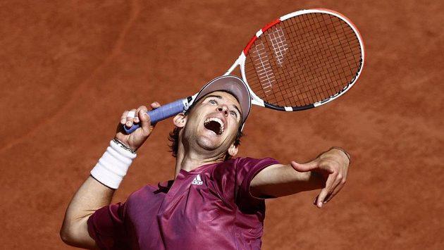Dominic Thiem v prvním kole French Open