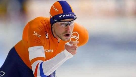Nizozemská rychlobruslařská legenda Sven Kramer.