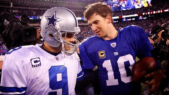 Quarterback New Yorku Giants Eli Manning ukončil kariéru
