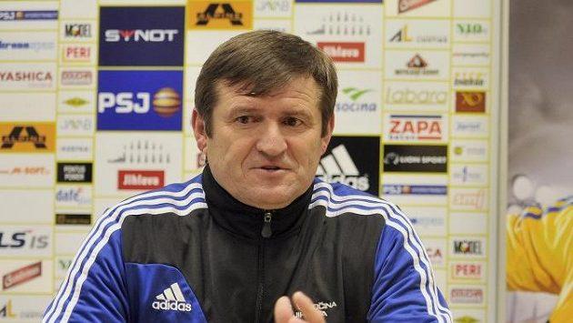 Trenér Jihlavy Michal Hipp
