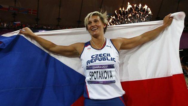 Barbora Špotáková se vrátí na Olympijský stadión v roli vlajkonošky české výpravy při zakončení her.