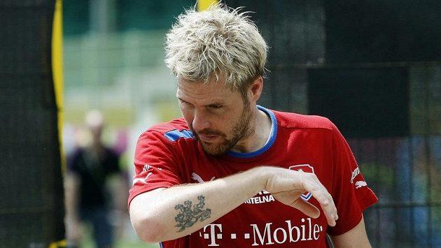 Fotbalový záložník Tomáš Hübschman.
