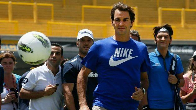 Pro tenistu Federera není žádný míč předem ztracený.