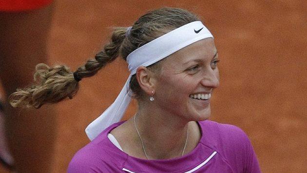 Radost Petry Kvitové na Roland Garros