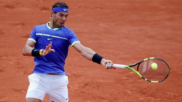 Rafael Nadal během French Open.