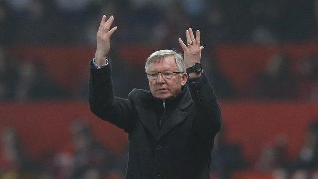 Kouč Manchesteru United Sir Alex Ferguson.