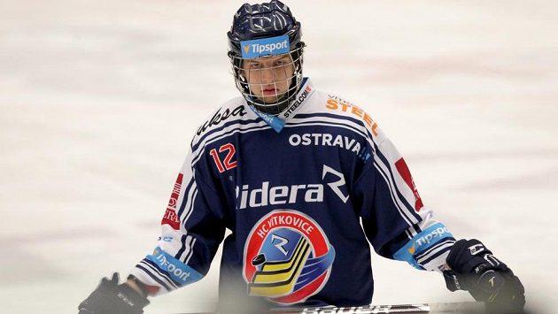 Šestnáctiletý Jaromír Pytlík, kterého si ve druholigovém Žďáru vyhlédly Vítkovice.