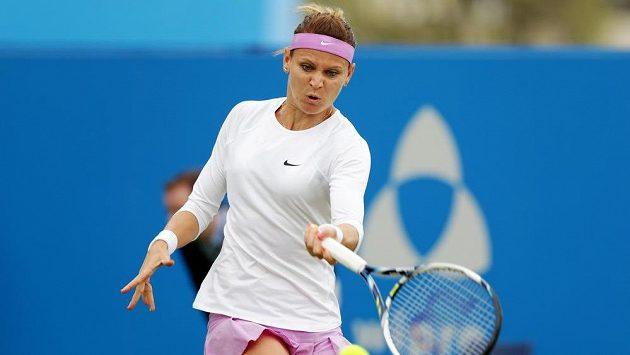Lucie Šafářová prohrála ve druhém kole turnaje v Eastbourne s Dominikou Cibulkovou.
