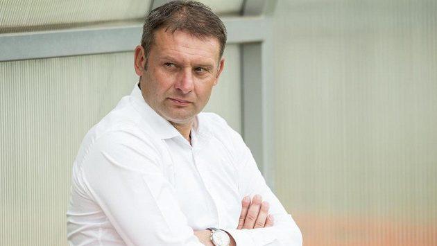 Trenér Brna Svatopluk Habanec si po další bezgólové remíze vyslechl nelichotivé reakce fanoušků.