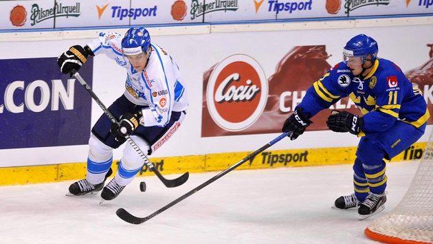 Atee Ohtamma (vlevo) z Finska a Simon Hjalmarsson ze Švédska.