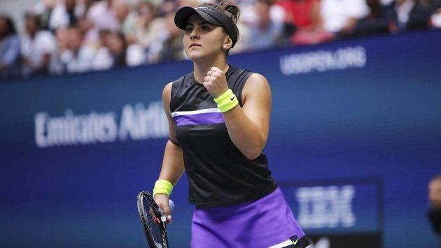 Šampionka z US Open Bianca Andreescuová se v novém vydání žebříčku WTA posunula na páté místo.