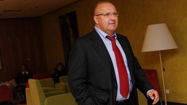 Majitel fotbalové Příbrami Jaroslav Starka.