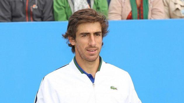 Uruguayský tenistab Pablo Cuevas.