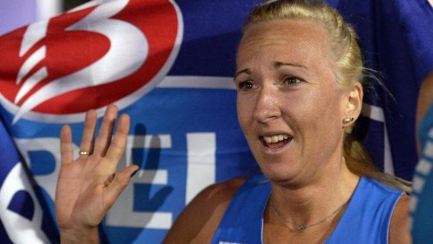 Eva Vrabcová Nývltová český rekord nepokořila.