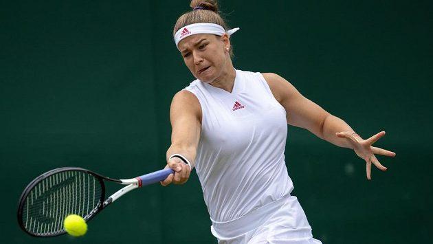 Karolína Muchová je ve Wimbledonu ve čtvrtfinále.