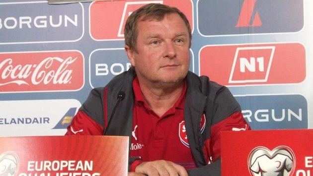 Kouč české reprezentace Pavel Vrba