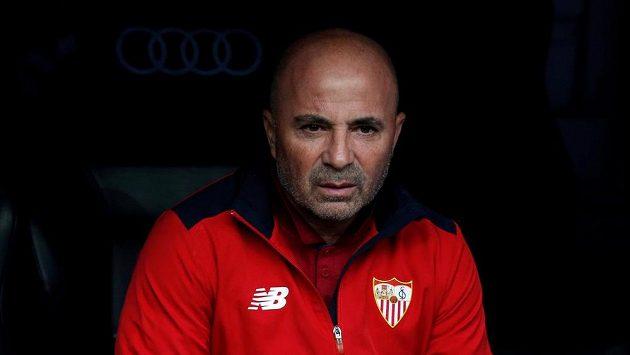 Trenér Sevilly Jorge Sampaoli.