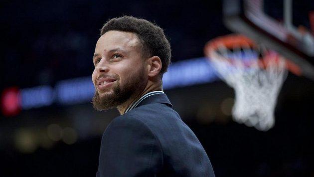 Americký basketbalista Golden State Stephen Curry.