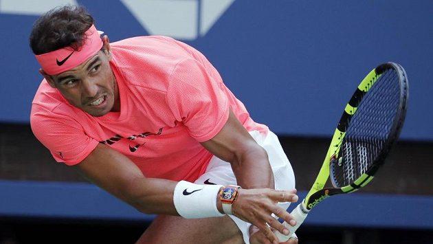 Rafael Nadal je po čtyřech letech znovu ve čtvrtfinále US Open.
