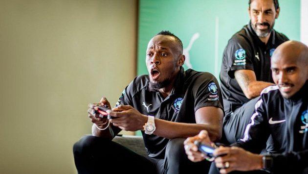 Bývalý atlet Usain Bolt se zúčastnil charitativního turnaje ve hře FIFA 20.