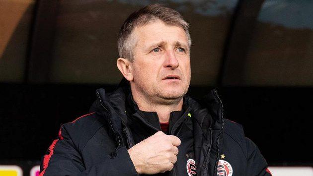 Michal Horňák vyšel jako hlavní trenér Sparty poprvé naprázdno.