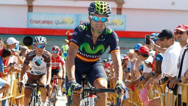 Domácí cyklista Alejandro Valverde zvítězil ve 4. etapě Vuelty.