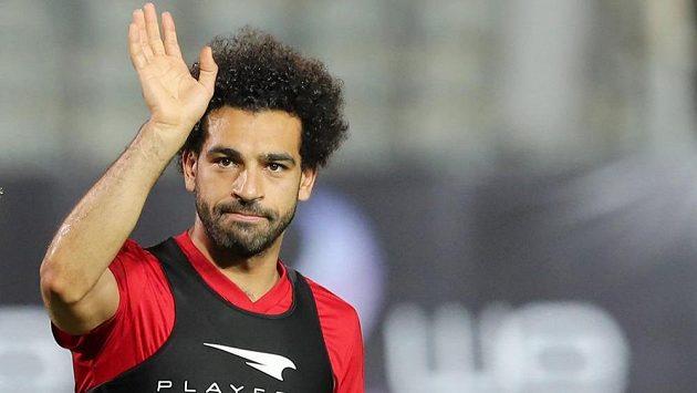 Hvězdný fotbalista Mohamed Salah je podle trenéra připravený hrát na MS