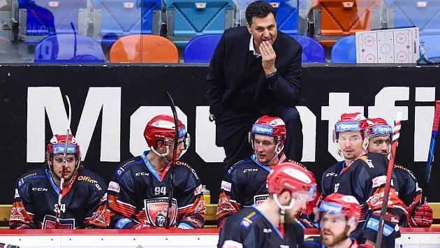 Vladimír Růžička starší už není trenérem hokejistů Hradce Králové.