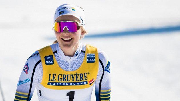 Švédská biatlonistka Stina Nilssonová