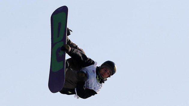 Snowboardista Petr Horák v Istanbulu.