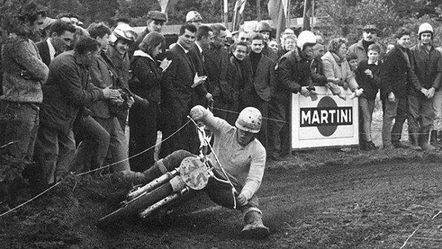 Belgická motokrosová legenda Joël Robert.
